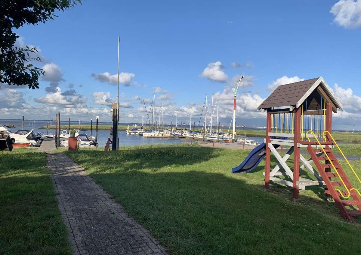Fedderwardersiel/BYC - Hafen bei Butjadingen (Fedderwardersiel)
