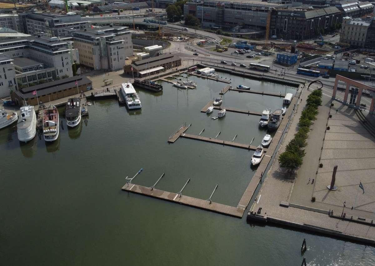 Lilla Bommen - Hafen bei Gothenburg (Gullbergsvass)