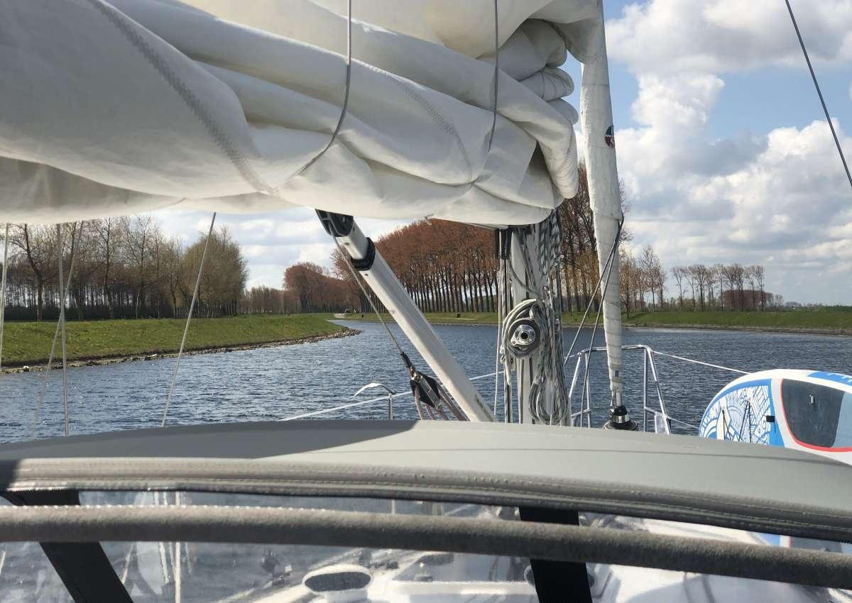 Havenkanaal - Foto bei Wilhelminadorp