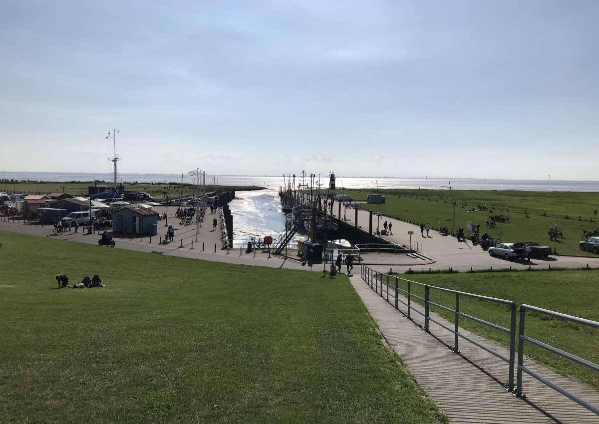 Hafen Wremen - Hafen bei Wurster Nordseeküste