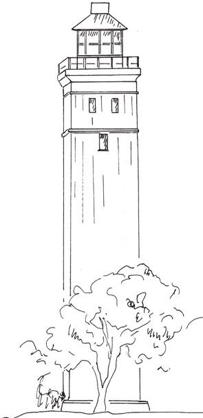 Keldsnor - Leuchtturm bei Vognsbjerg