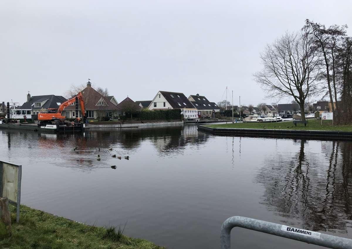 Scharsterbrug - Brücke bei De Fryske Marren (Scharsterbrug)