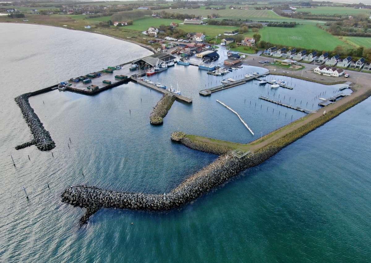 Jegindø Havn - Hafen bei Bøl