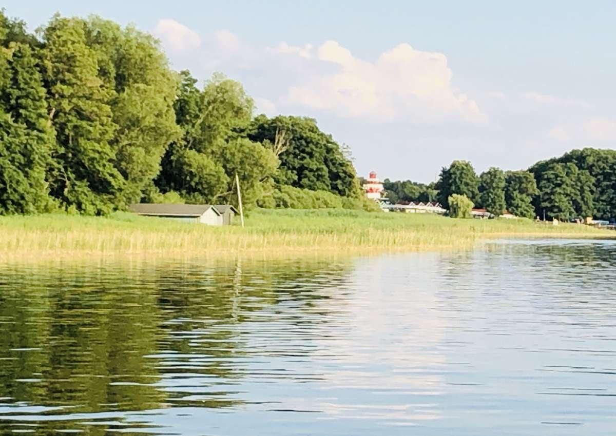 Stadtanleger Fürstenberg (im westl. Schwedtsee) - Hafen bei Fürstenberg/Havel