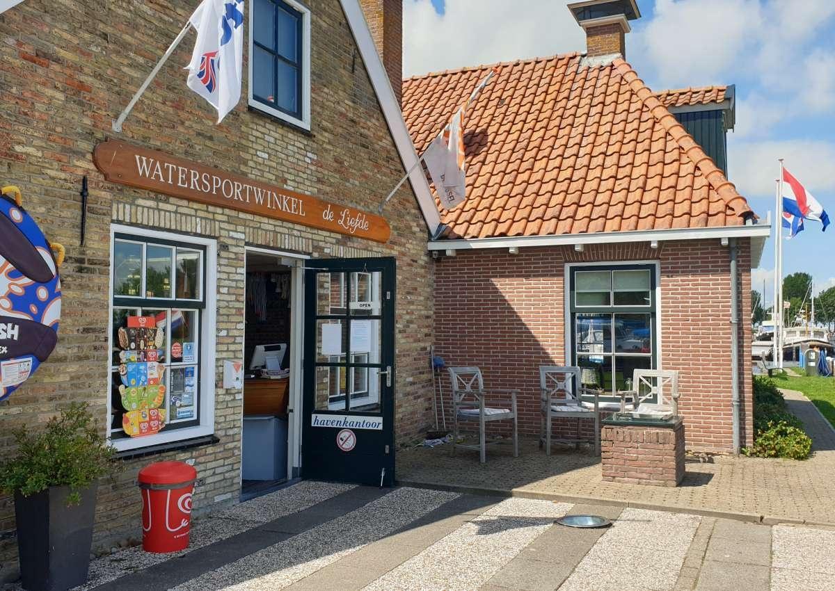 Jachthaven Bouwsma - Hafen bei Súdwest-Fryslân (Workum)
