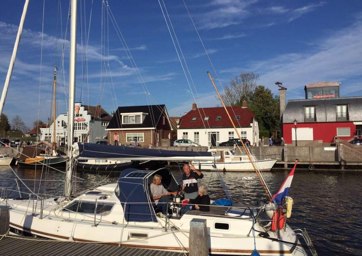 Haven Zoutkamp - Hafen bei Het Hogeland (Zoutkamp)