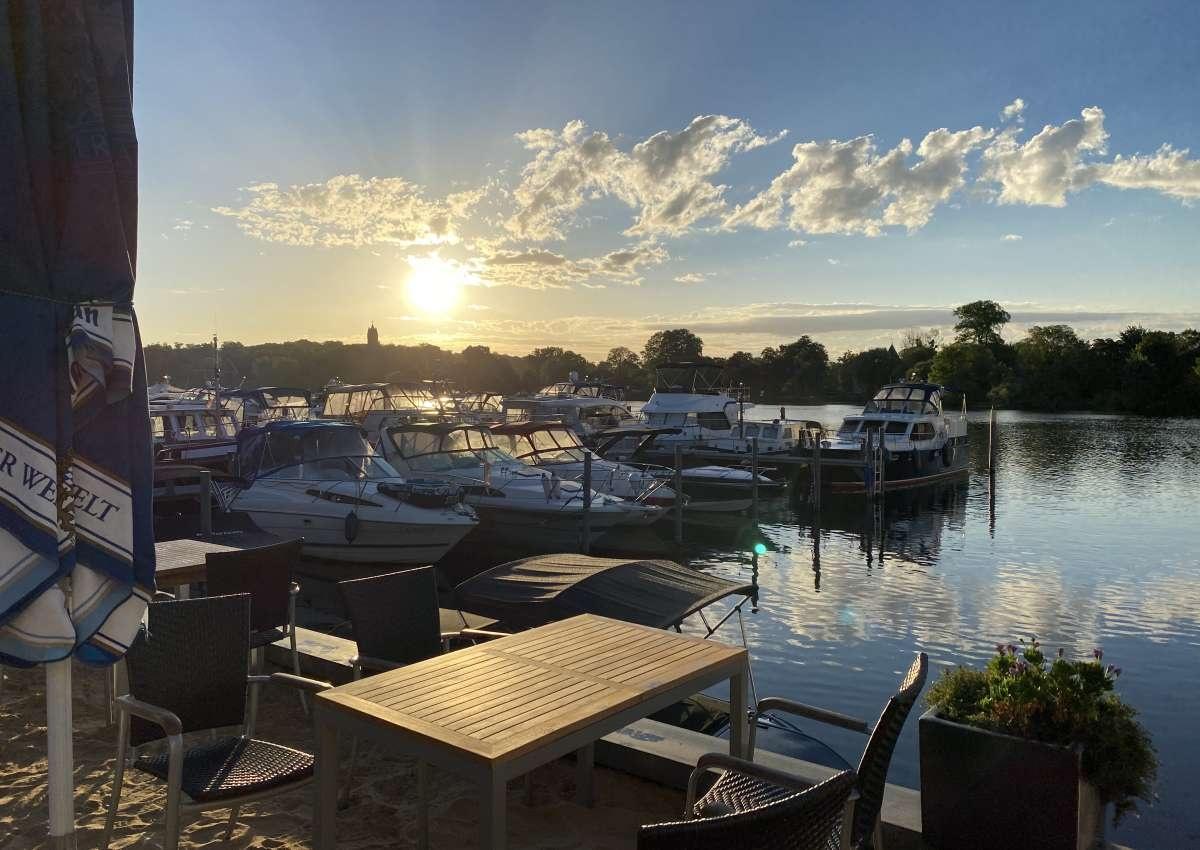 Marina am Tiefen See - Hafen bei Potsdam (Südliche Innenstadt)