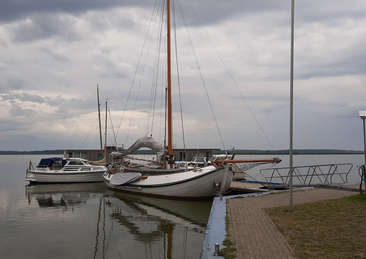 Naturhafen Rieth - Marina near Luckow