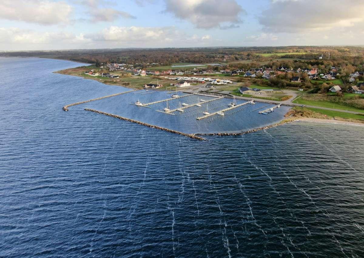 Hvalpsund Marina - Hafen bei Hvalpsund