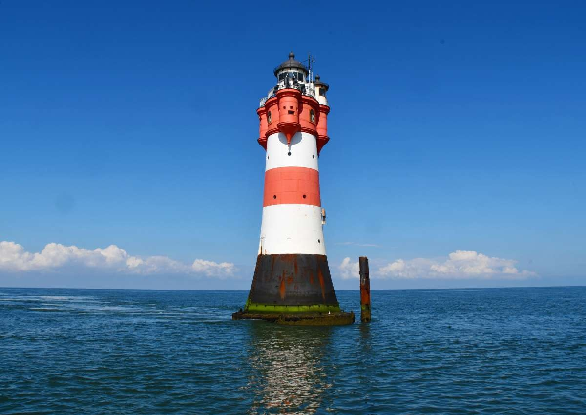 Roter Sand Leuchtturm - Foto