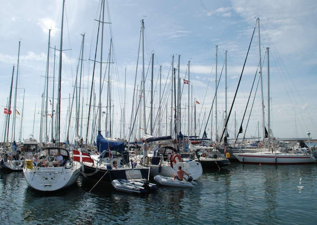 Anholt - Hafen bei Anholt by