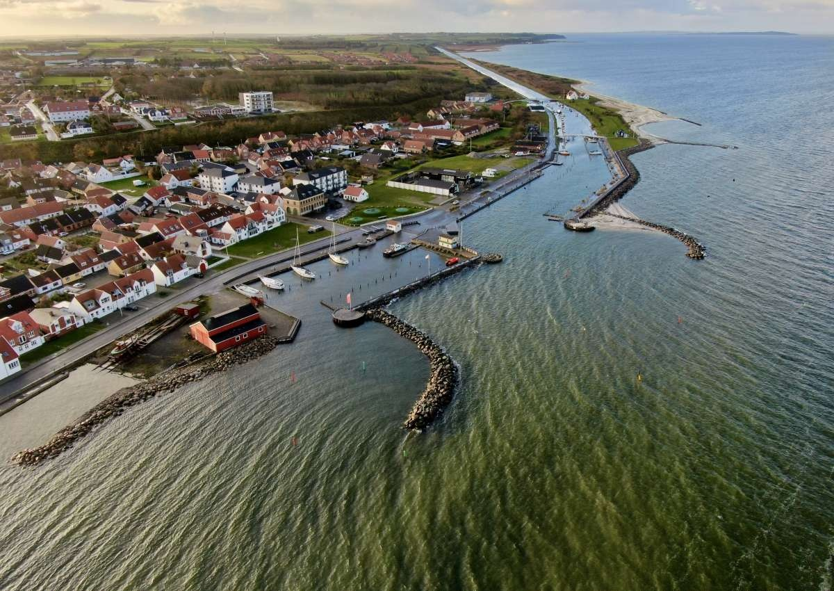 Løgstør - Hafen bei Løgstør