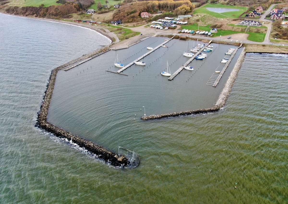 Gyldendal - Hafen bei Brodal