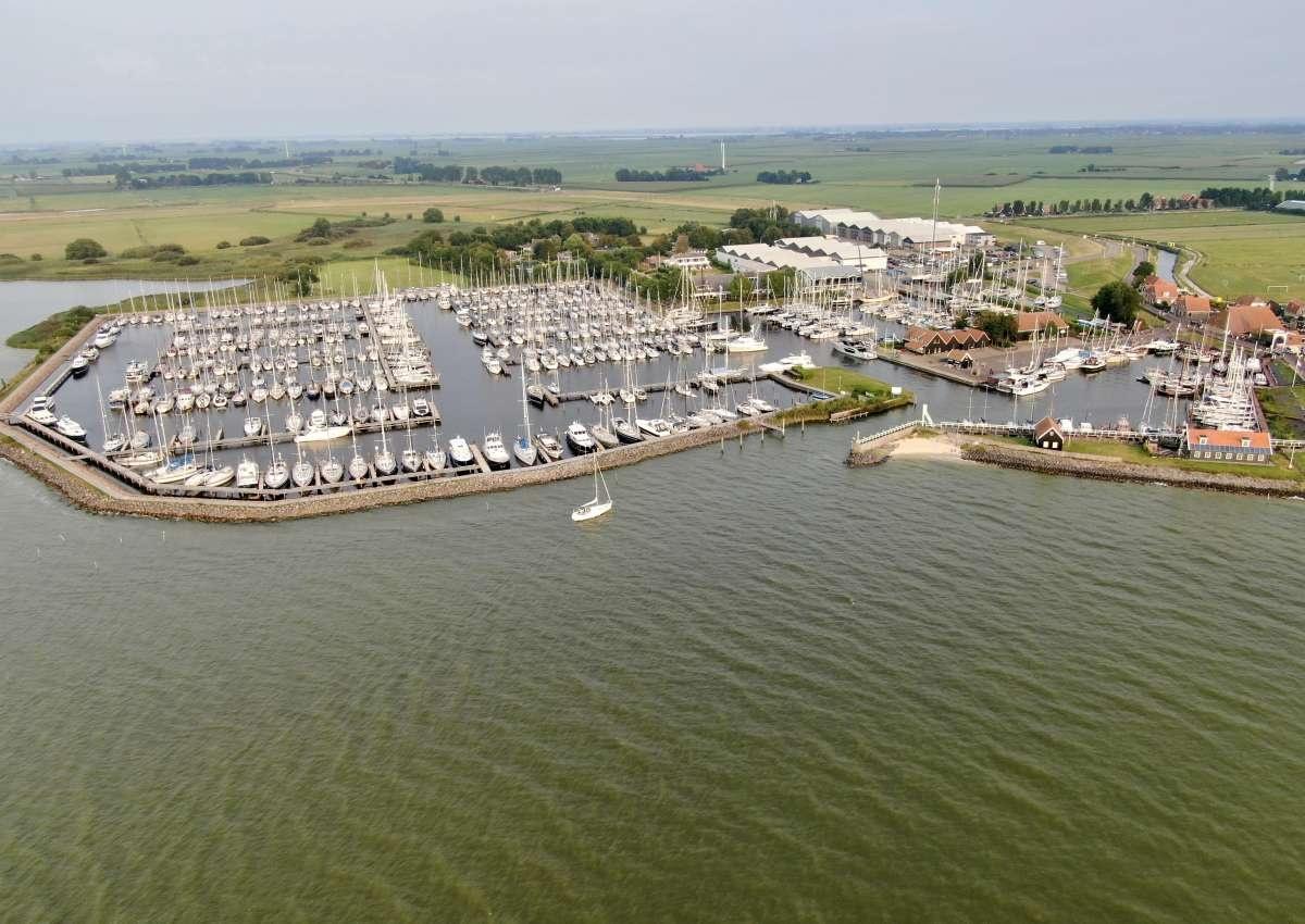 Jachthaven Hindeloopen - Hafen bei Súdwest-Fryslân (Hindeloopen)