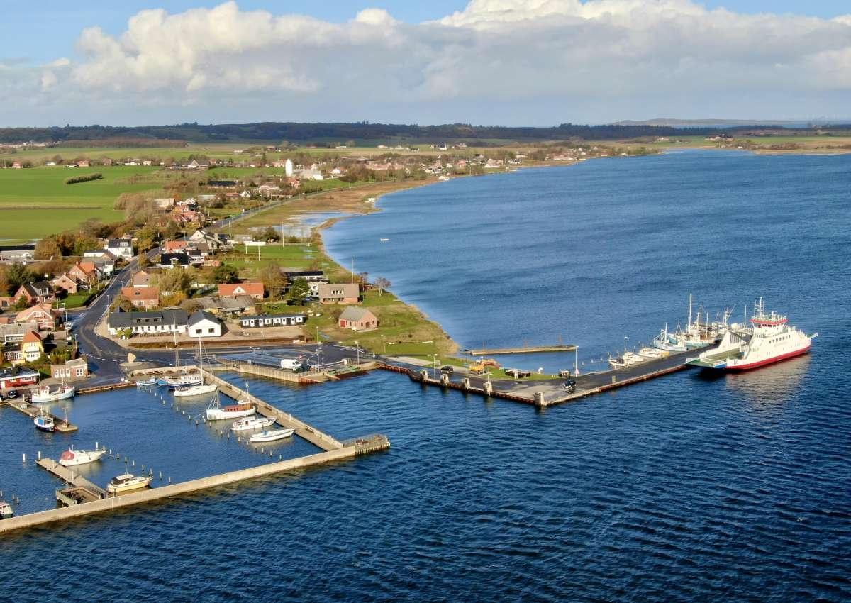 Fur Havn - Hafen bei Nederby