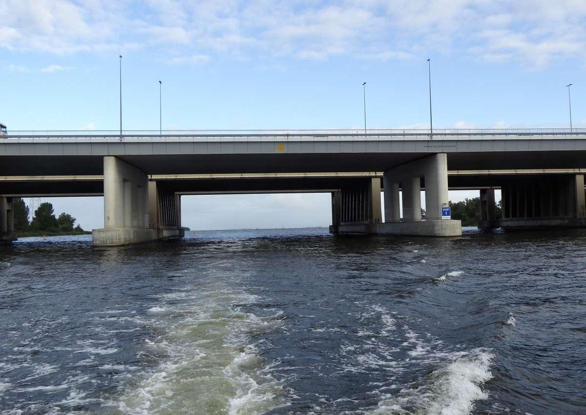 spoorbrug Muiderberg (IJmeer) - Bridge près de Gooise Meren (Naarden)