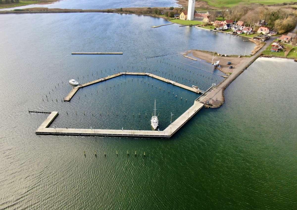 Doverodde - Hafen bei Doverodde