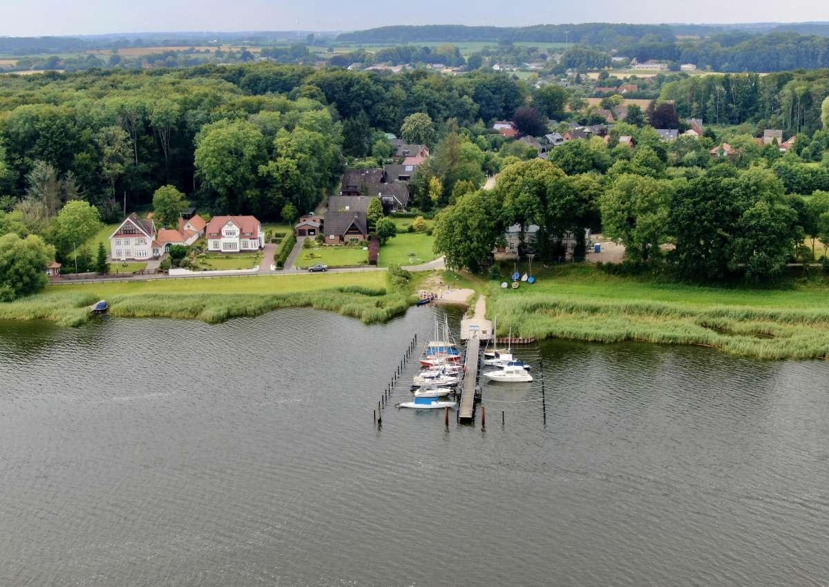 Schlei-Bootsclub Ulsnis-Steinfeld - Hafen bei Ulsnis