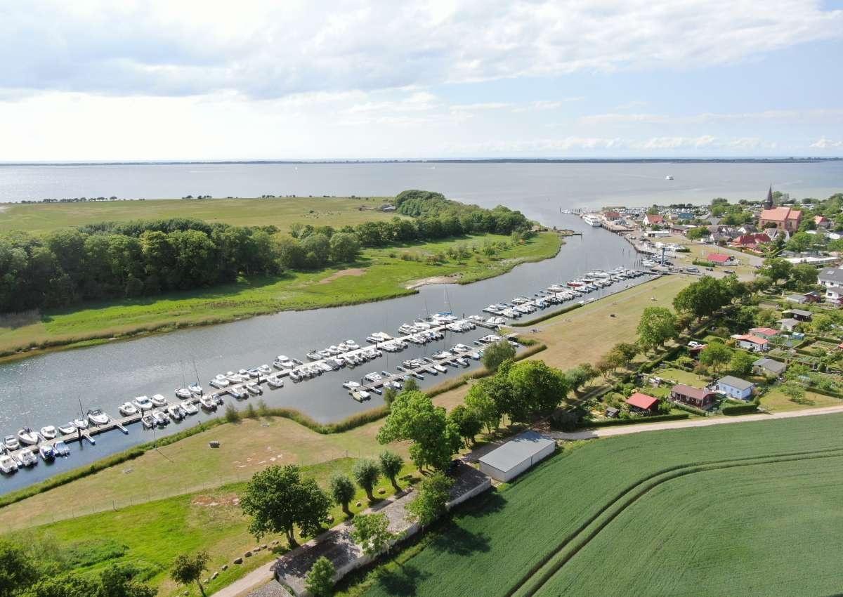 Schaprode - Hafen bei Schaprode (Öhe)