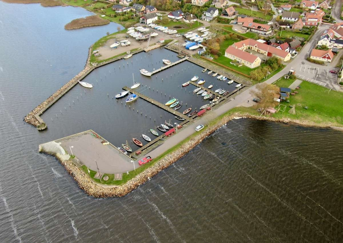 Hjarbæk - Hafen bei Hjarbæk