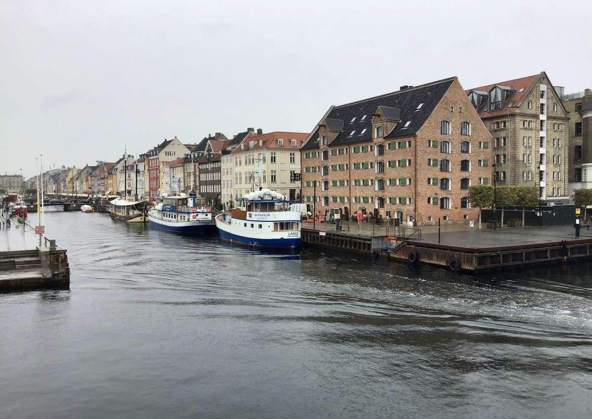 Nyhavn - Hafen bei Copenhagen (Frederiksstaden)