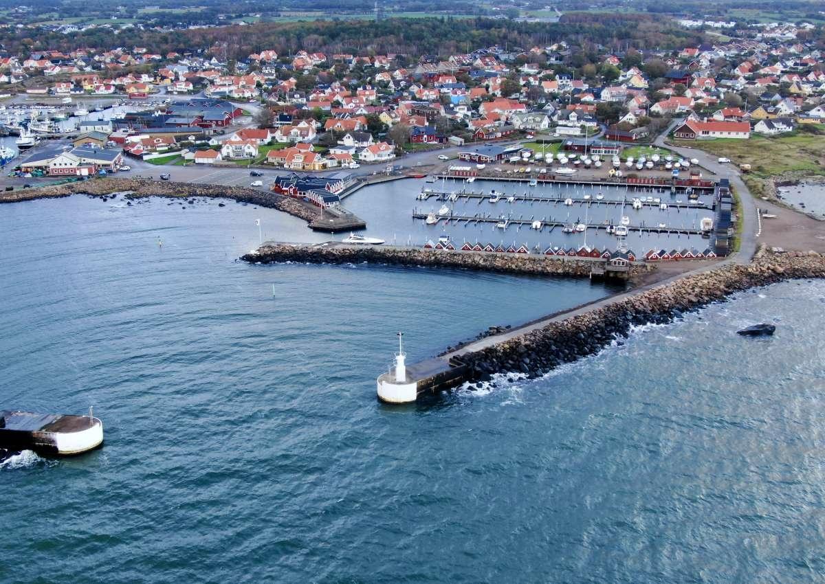 Träslövsläge Yachthafen - Hafen bei Träslövsläge (Vare)