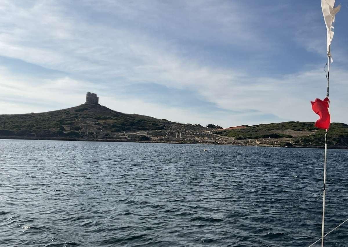 Capo san Marco  - Anchor near Cabras