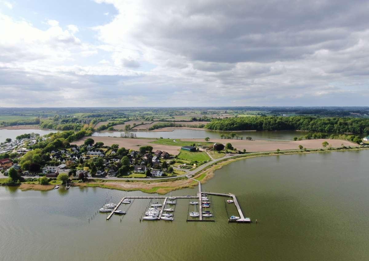 Lindaunis Sportboothafen - Hafen bei Lindaunis