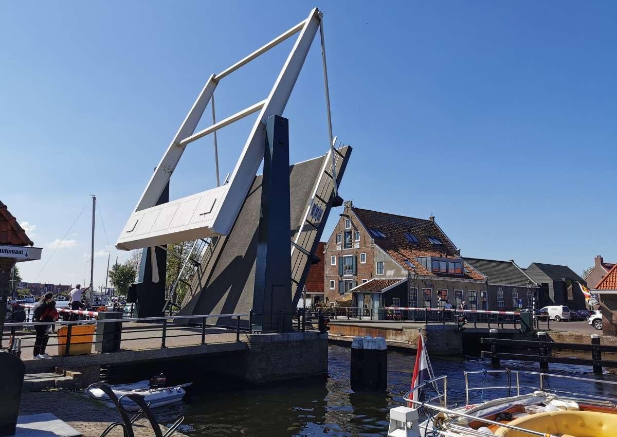 Flevobrug - Brücke bei De Fryske Marren (Lemmer)