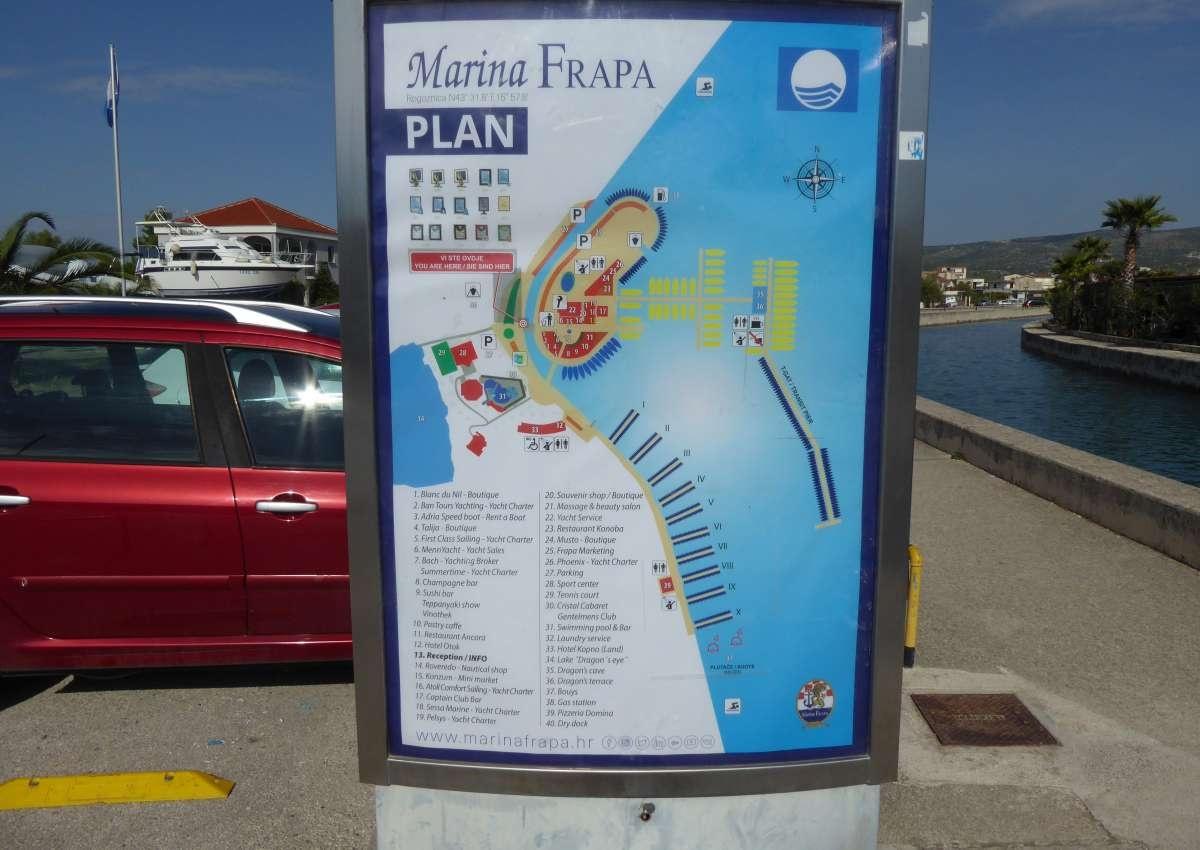Marina Frapa - Rogoznica - Hafen bei Rogoznica