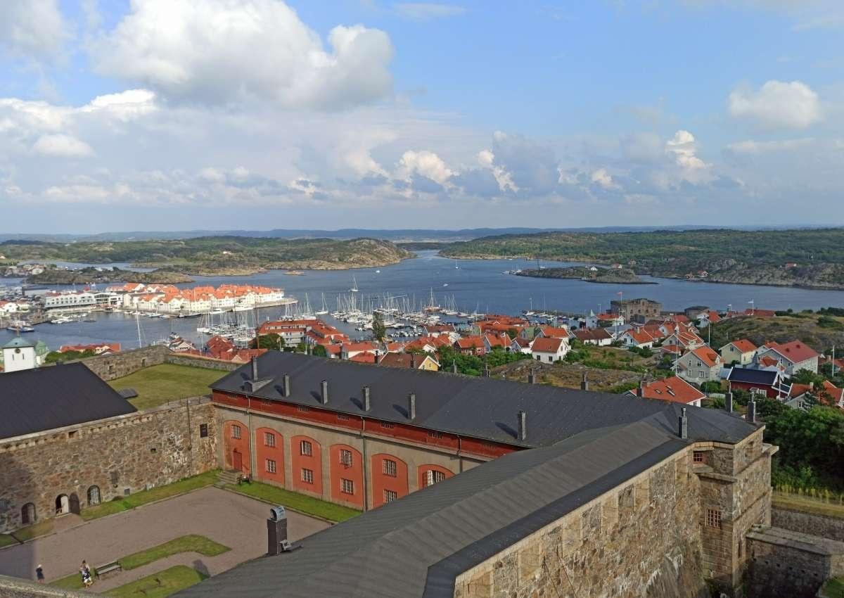 Marstrand fort - Leuchtturm bei Marstrand (Klockarringen)