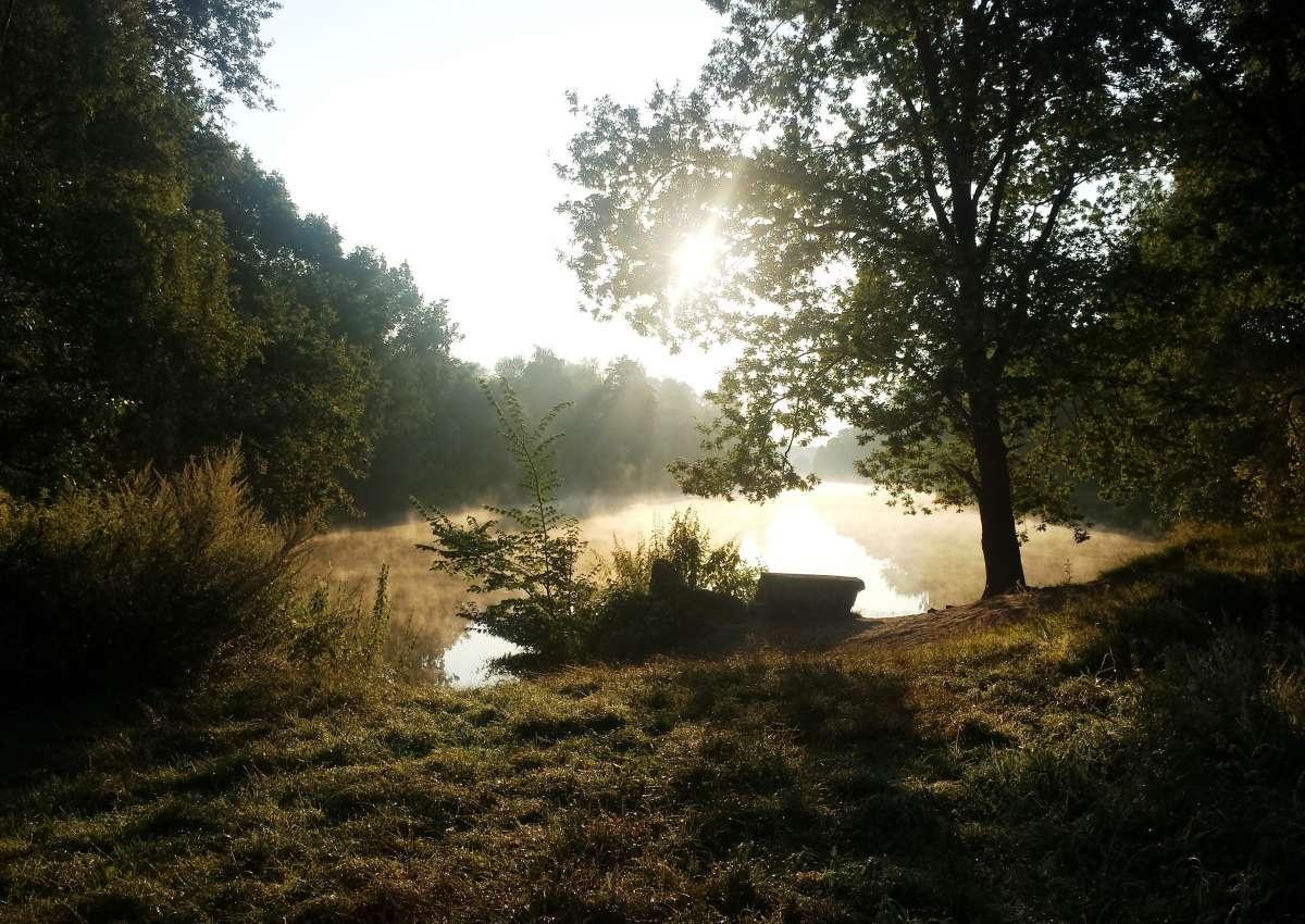 Stichkanal Nüssau - Navinfo bei Büchen