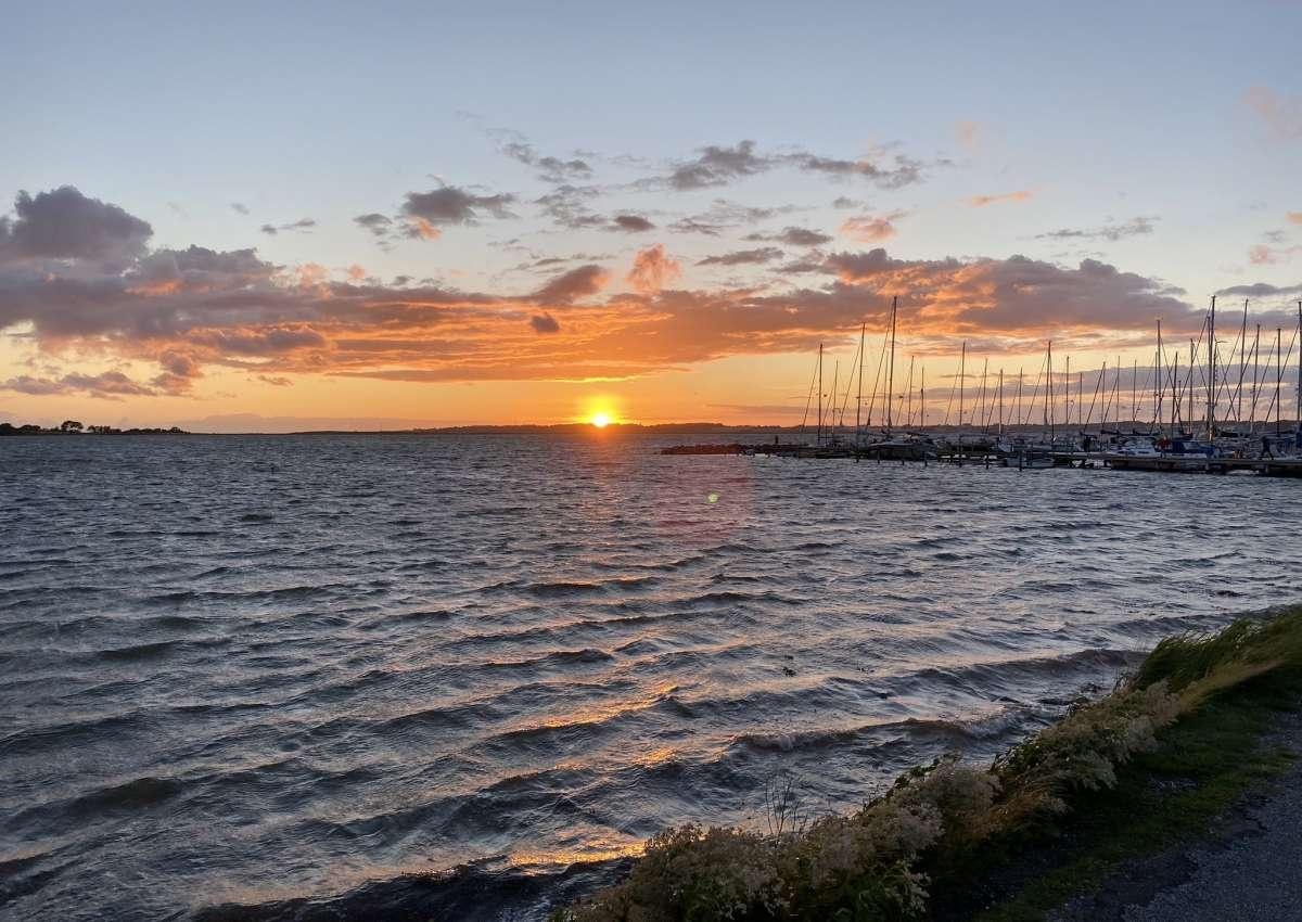 Lyø - Marina près de Bådsted