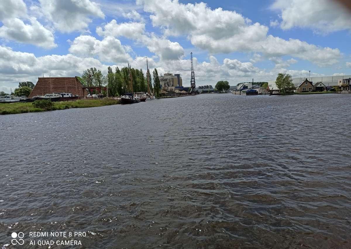 Schiffswerft van der Meer - Hafen bei Súdwest-Fryslân (Sneek)