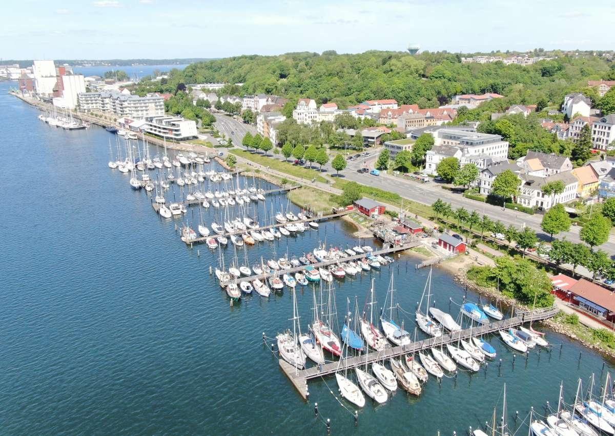 Flensburg Jaichhafen - Hafen bei Flensburg (Jürgensby)
