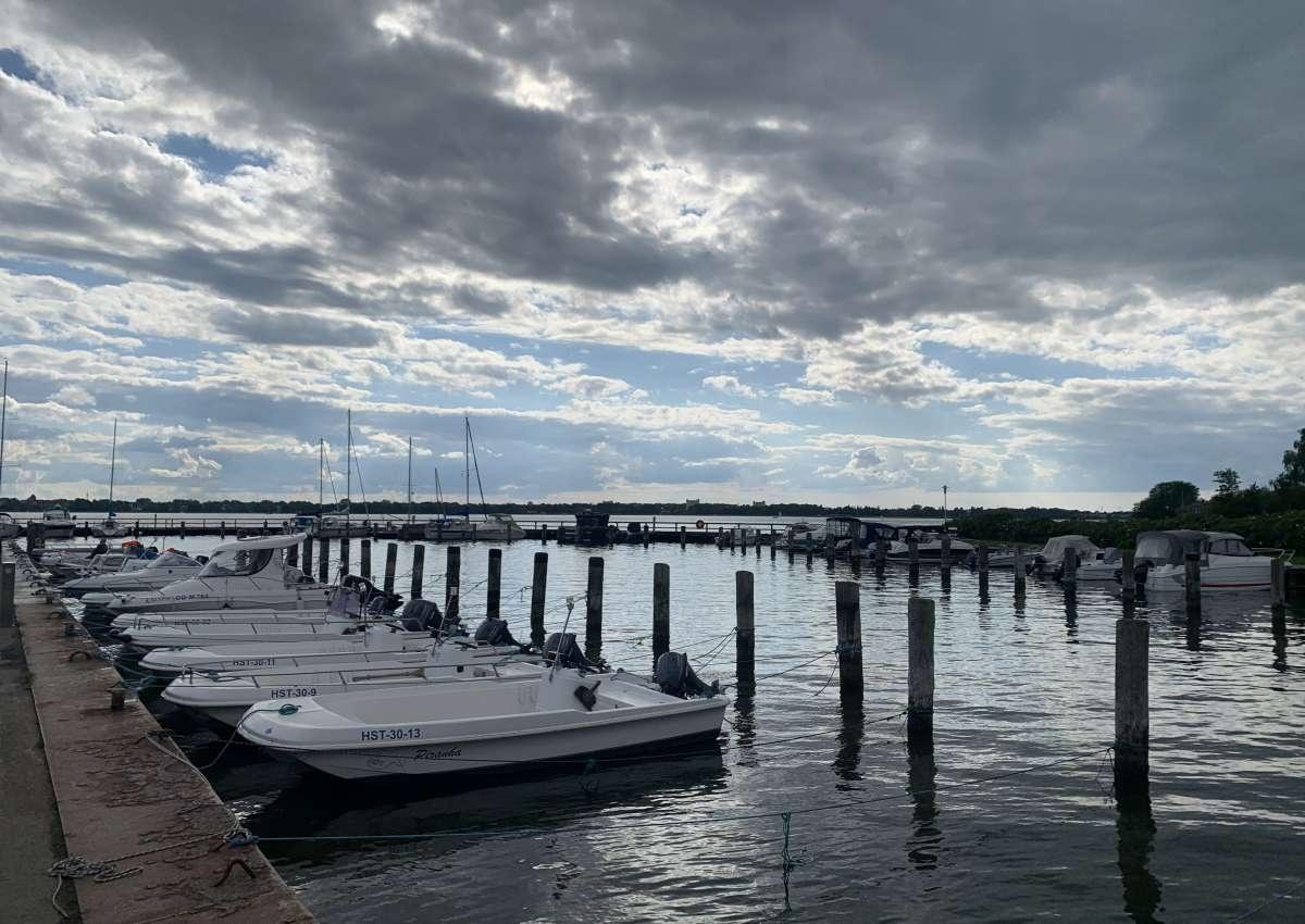 Altefähr - Hafen bei Altefähr