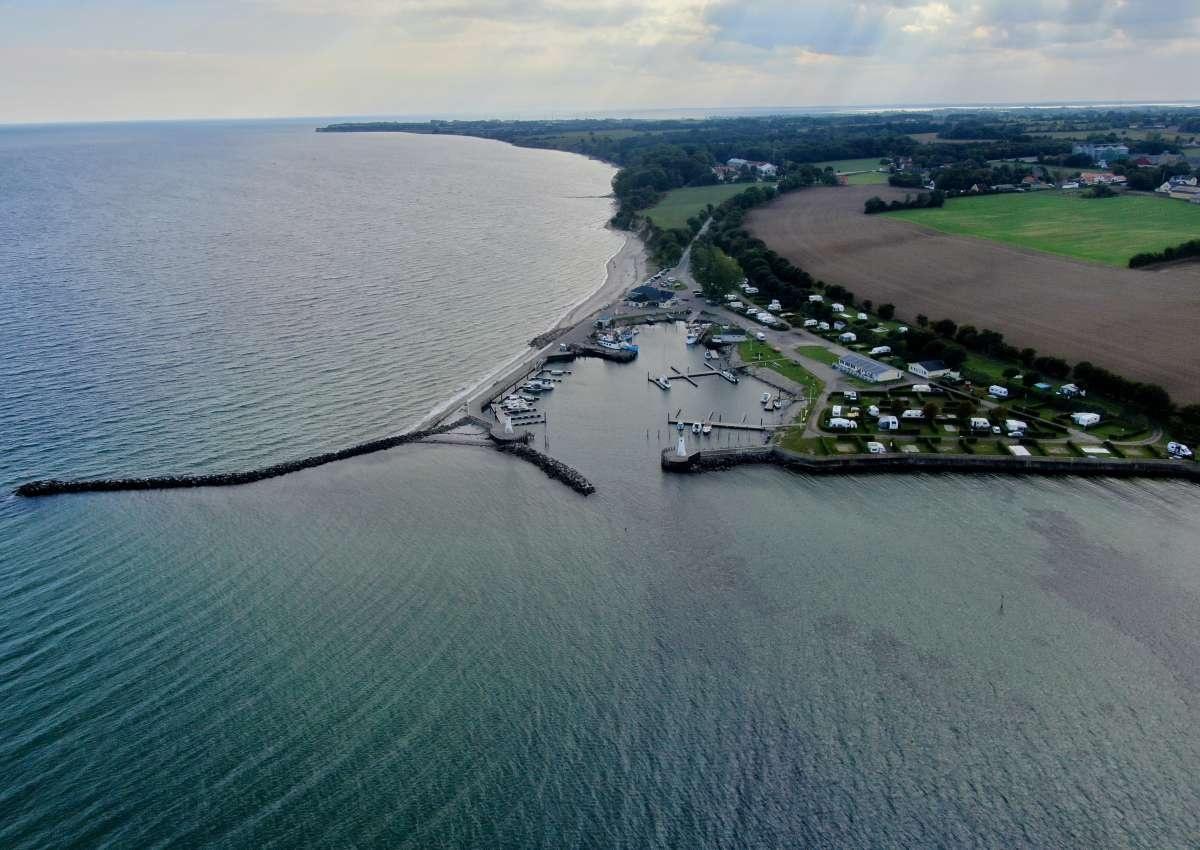 Mommark - Hafen bei Lysabild